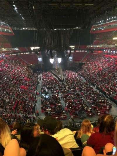 Little Caesars Arena, section: M20, row: 4, seat: 11