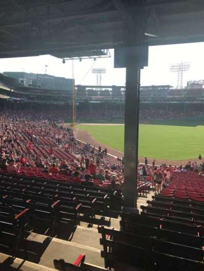 Fenway Park, section: Grandstand 3, row: 10, seat: 30