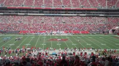Raymond James Stadium section 210