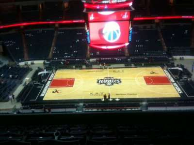Verizon Center section 417