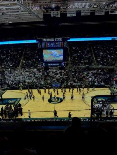 Breslin Center, section: 210, row: 3, seat: 1