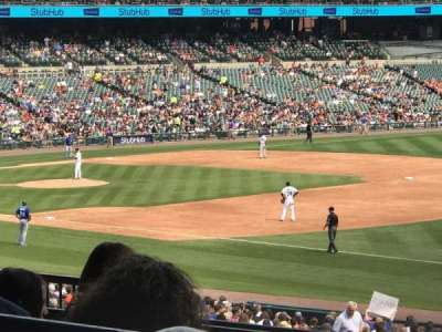 Comerica Park, section: 116, row: F, seat: 5