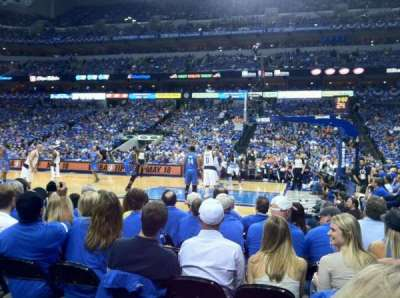 American Airlines Center, section: 105, row: B, seat: 10