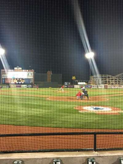 Peoples Natural Gas Field, section: 109, row: 3, seat: 3