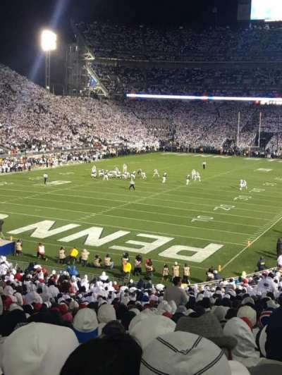 Beaver Stadium, section: NC, row: 47, seat: 16