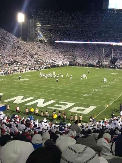 Beaver Stadium, section: NC, row: 47, seat: 16