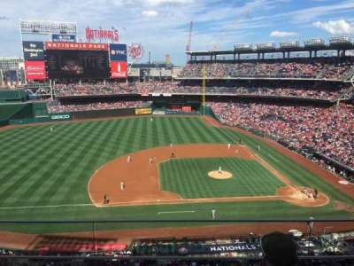 Nationals Park, section: 308, row: C, seat: 18