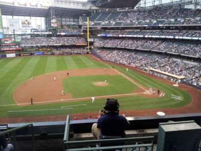 Miller Park, section: 339, row: 5, seat: 10