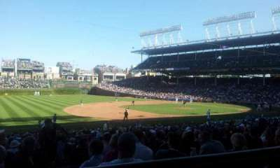 Wrigley Field section 208