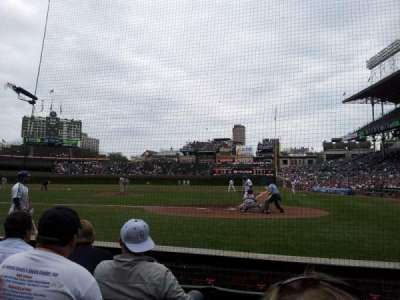 Wrigley Field, section: 17, row: 2, seat: 104
