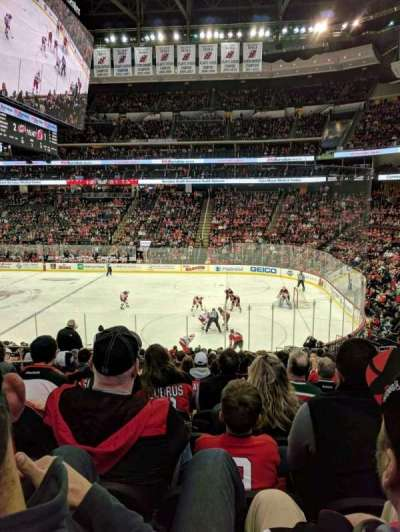 Prudential Center, section: 21, row: 21, seat: 12
