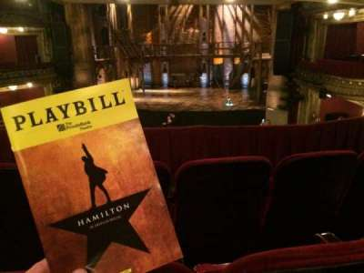 CIBC Theatre, section: Dress Circle RC, row: C, seat: 230