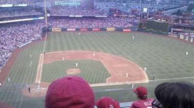Citizens Bank Park, section: 416, row: 4, seat: 23