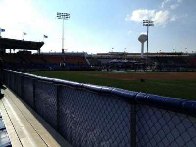 FirstEnergy Stadium (Reading), section: Blue 2, row: 1, seat: 2