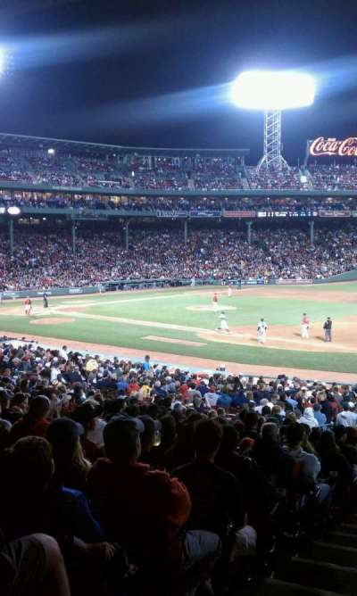 Fenway Park section Field Box 12