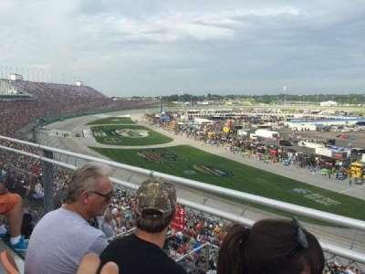 Kentucky Speedway, section: KYTI, row: 2, seat: 25