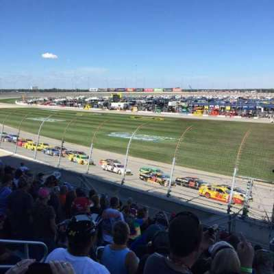 Chicagoland Speedway, section: 101, row: 11, seat: 11