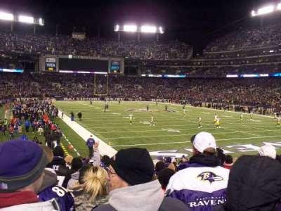 M&T Bank Stadium section 117