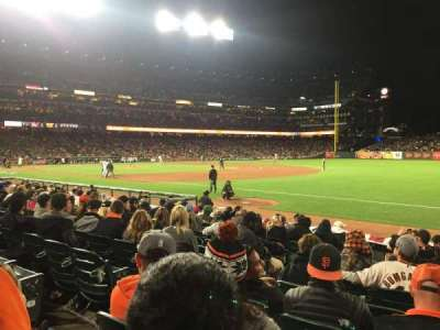 AT&T Park, section: 103, row: 11, seat: 10