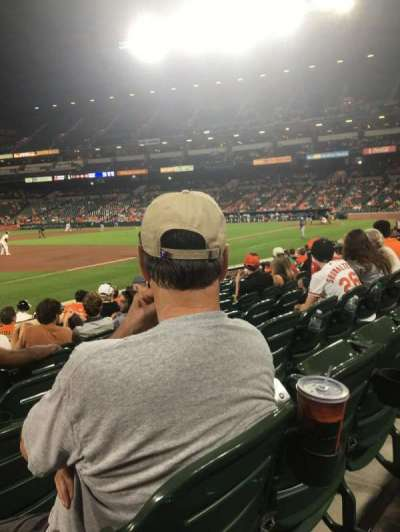 Oriole Park at Camden Yards, section: 60, row: 9, seat: 12