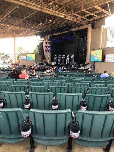 Ruoff Home Mortgage Music Center, section: H, row: N, seat: 20