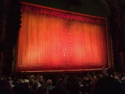 New Amsterdam Theatre, section: Orchestra, row: M, seat: 7