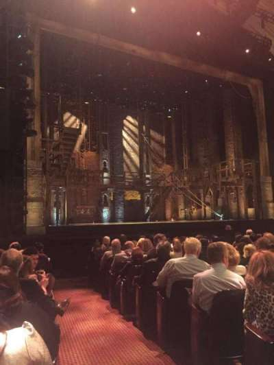 Orpheum Theatre (San Francisco), section: Orchestra, row: M, seat: 1