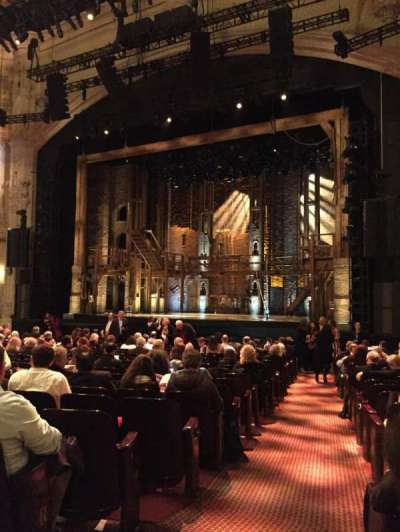 Orpheum Theatre (San Francisco), section: Orchestra side, row: U, seat: 2