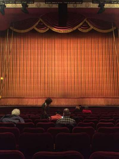 Imperial Theatre, section: Orchestra, row: L, seat: 107