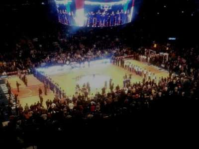Madison Square Garden, section: 222, row: 10, seat: 11