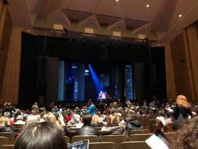 Keller Auditorium section Orchestra B