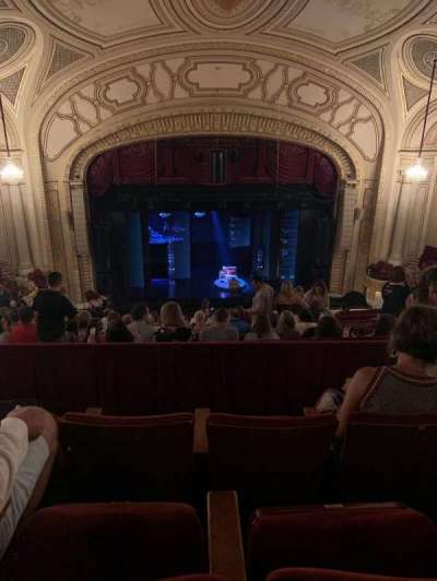 Connor Palace, section: Balcony CL, row: Q, seat: 305