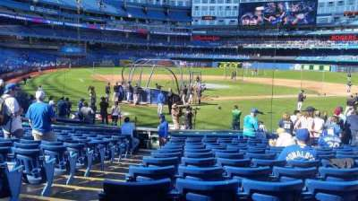 Rogers Centre, section: 120R, row: 17, seat: 1