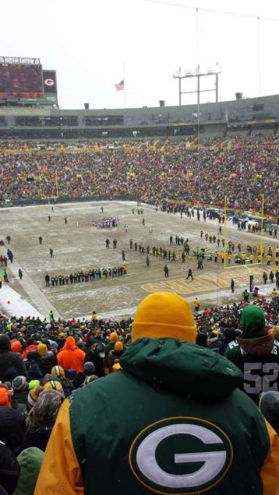 Lambeau Field, section: 136, row: 59, seat: 13
