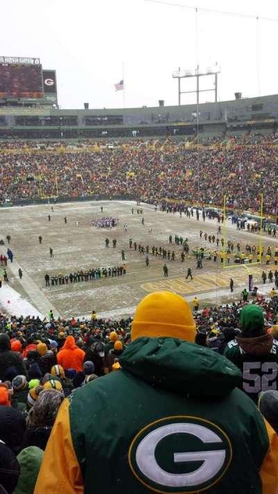 Lambeau Field, section: 136, row: 59, seat: 13