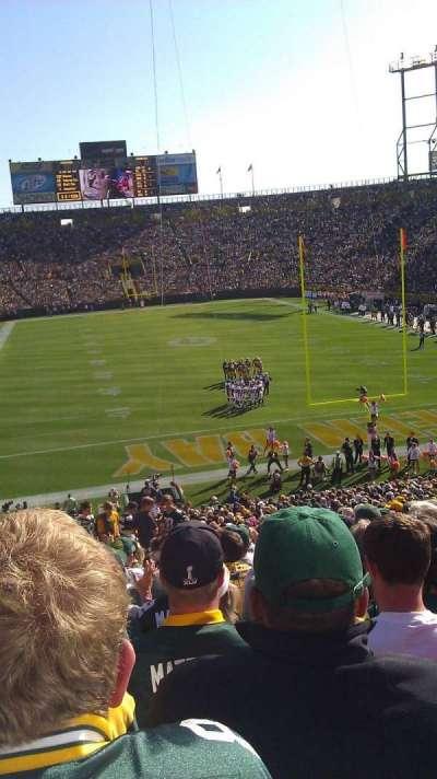 Lambeau Field, section: 101, row: 42, seat: 9