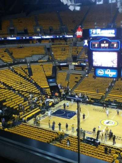 Bankers Life Fieldhouse, section: 224, row: 1, seat: 1