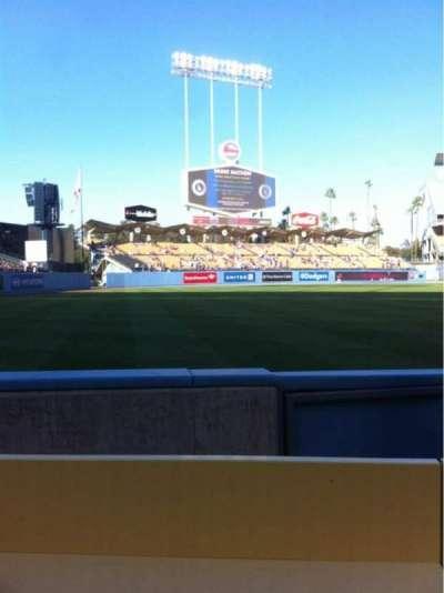 Dodger Stadium, section: 45FD, row: BB, seat: 10