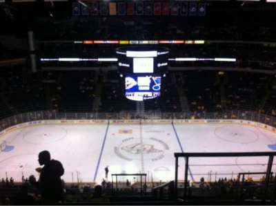 Bridgestone Arena, section: 325, row: K, seat: 2