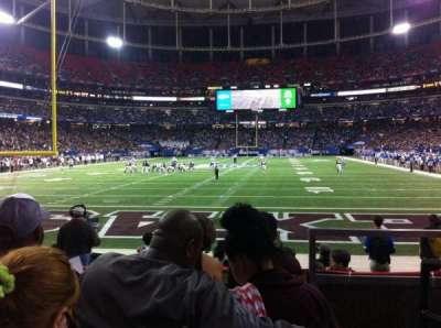 Georgia Dome, section: 125, row: 4, seat: 19