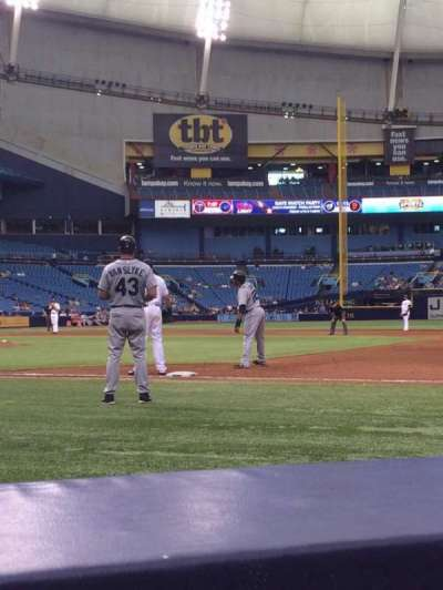 Tropicana Field section 120