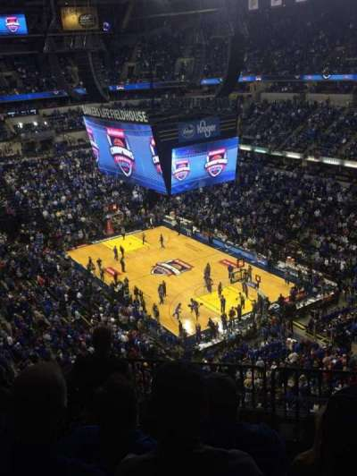 Bankers Life Fieldhouse, section: 222, row: 8, seat: 7