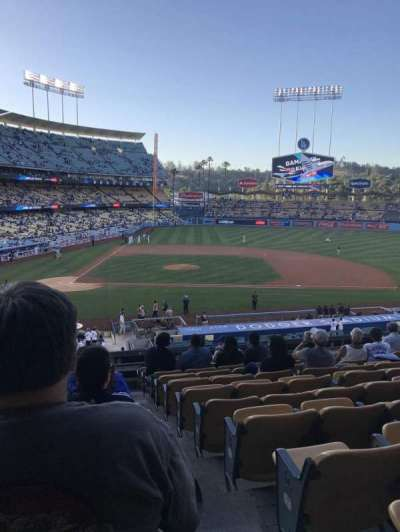 Dodger Stadium section 126LG