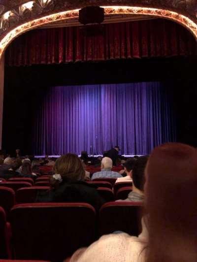 Coronado Theatre, section: Orchestra, row: P, seat: 2