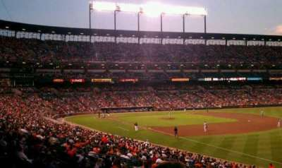 Oriole Park at Camden Yards, section: 9, row: 2, seat: 3