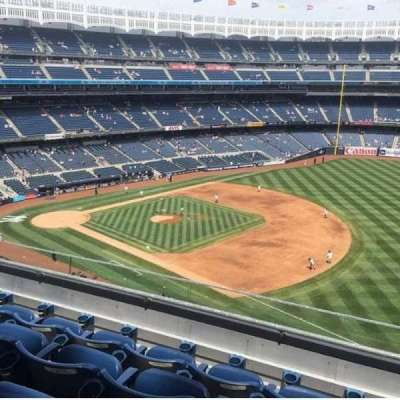 Yankee Stadium, section: 312, row: 4