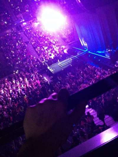 Izod Center, section: 121, row: A, seat: 4
