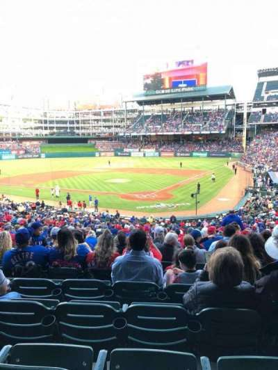 Globe Life Park in Arlington, section: 125, row: 33, seat: 1