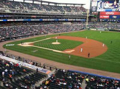 Comerica Park section 218