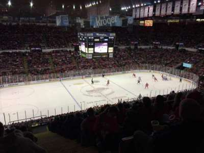 Joe Louis Arena, section: 224, row: 18, seat: 1